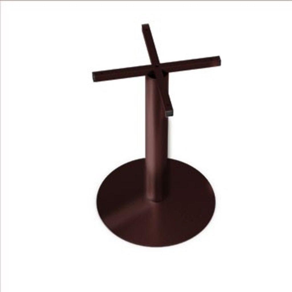 Подстолья для столов.: Подстолье 02 ST 76/715 (металлик, чёрный, коричневый, золото) в АРТ-МЕБЕЛЬ НН