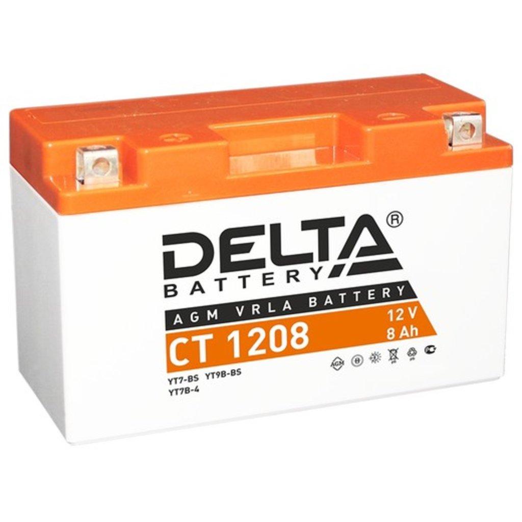 Delta: DELTA CT1208 в БазаАКБ