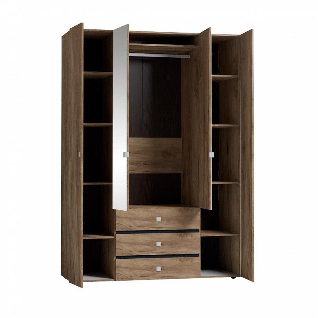 Шкафы для одежды и белья: Шкаф для одежды и белья Neo 555 в Стильная мебель