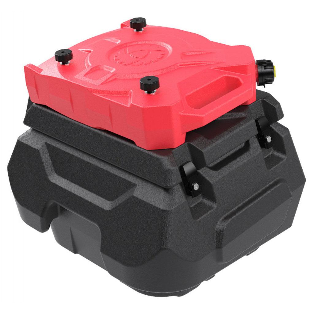 Запчасти для снегоходов РМ: Канистра RM для кофров RM Pro Vector 551i и RM UTV черная 12,5 л 1002277 в Базис72
