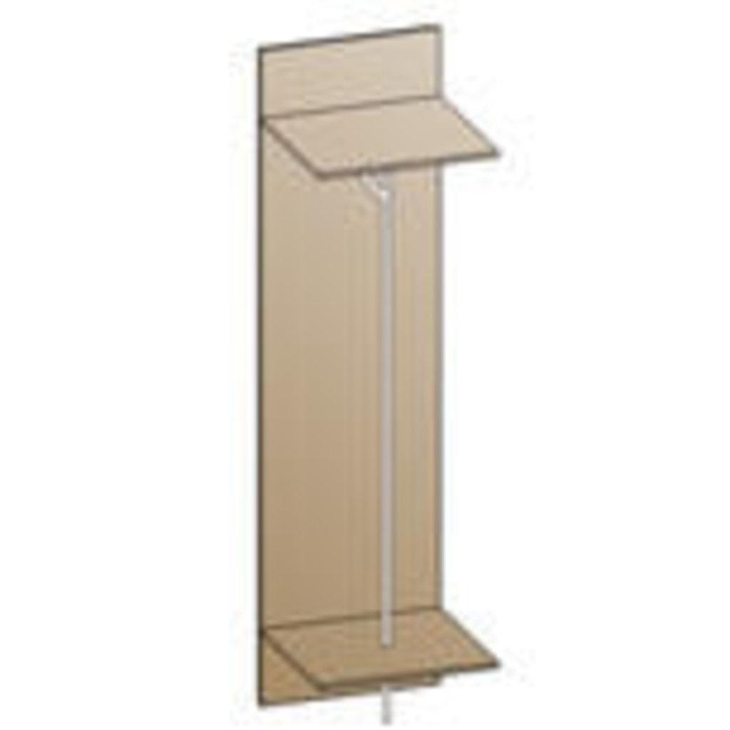 Мебель для прихожей Мелиса - композиция 1. Модули: Вешалка ВШ-801 Мелиса в Диван Плюс
