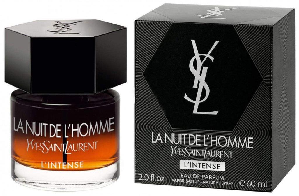 YvesSaintLaurent: Yves Saint Laurent  La Nuit de L`Homme Le Parfum Intense edt муж 60 ml в Элит-парфюм