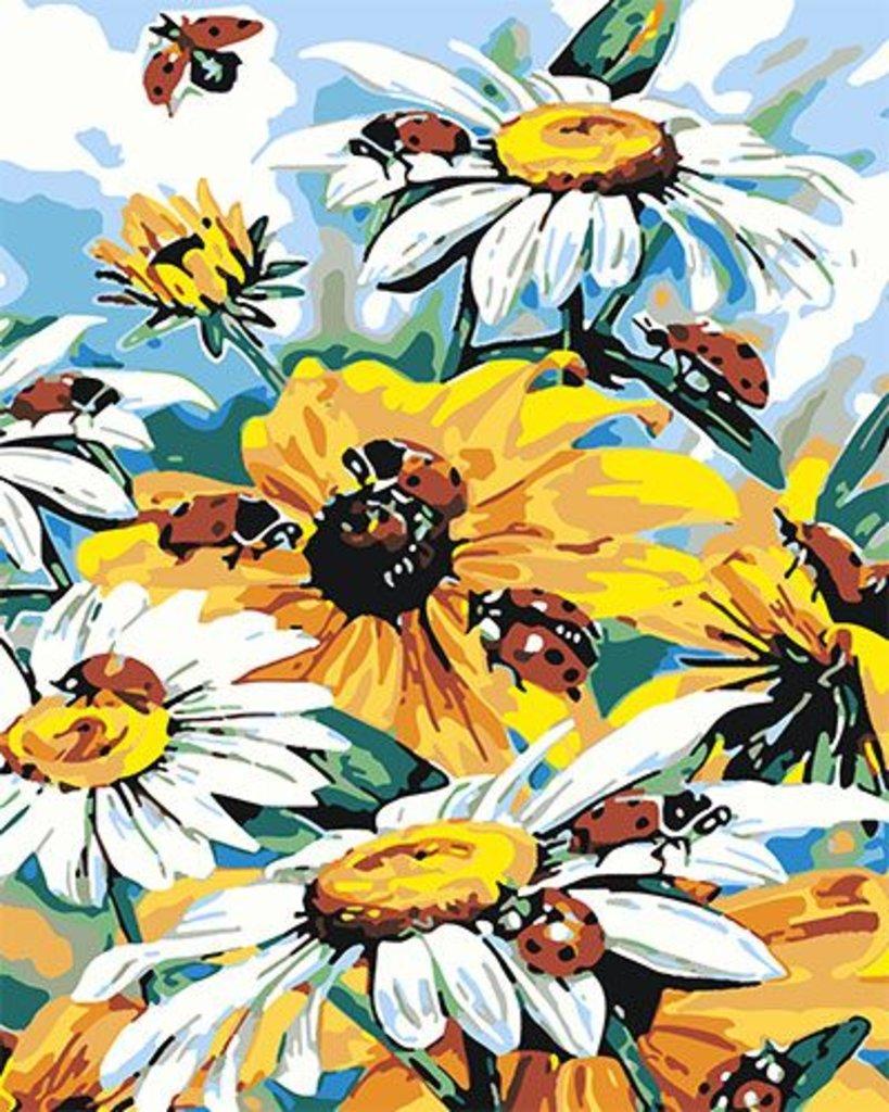 Картины по номерам: Картина по номерам Paintboy 40*50 КА00109 Цветы в Шедевр, художественный салон