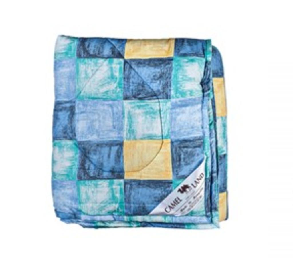 Одеяла и пледы: Одеяло 160*210 см. стеганое верблюжья шерсть в Сельский магазин