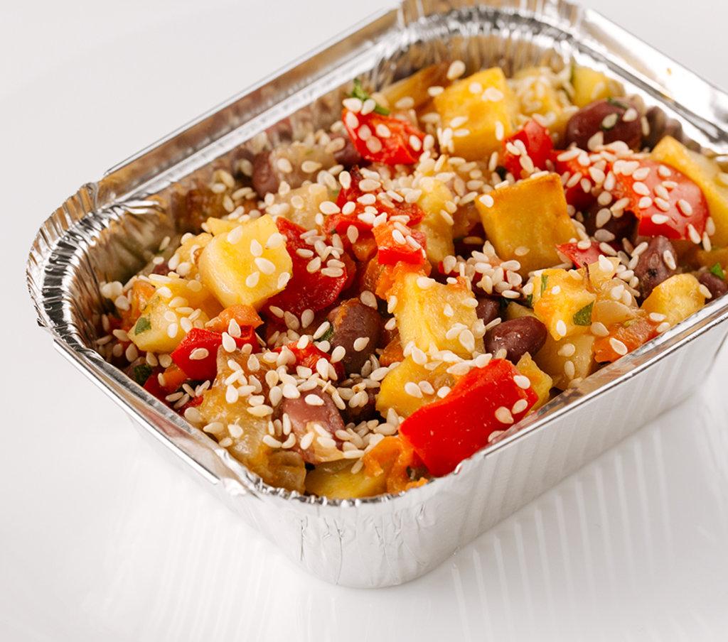 Горячее: Овощи запеченные с кунжутом в Провиант