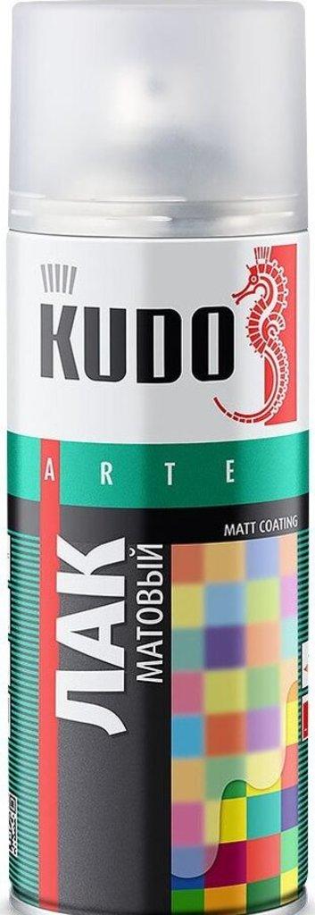 Лаки,разбавители и другие вспомогательные жидкости: Лак акриловый матовый универсальный 520мл KUDO KU-9004 в Шедевр, художественный салон