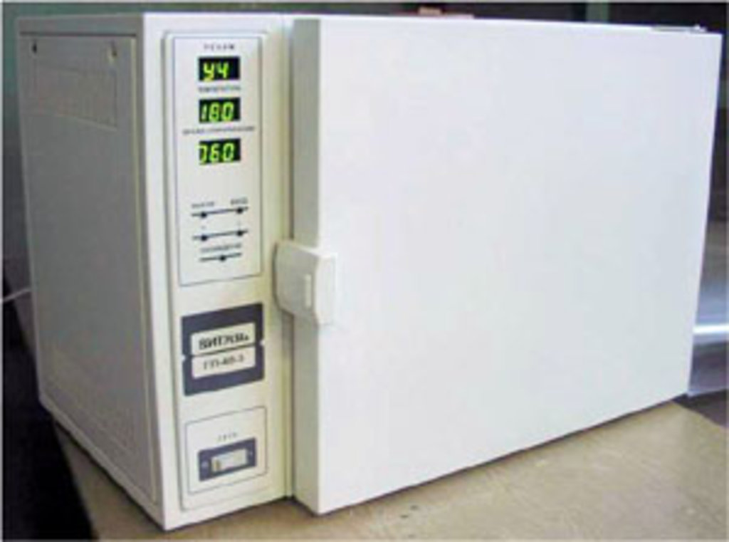 Стерилизаторы воздушные: Стерилизатор воздушный Витязь ГП-40-3 в Техномед, ООО