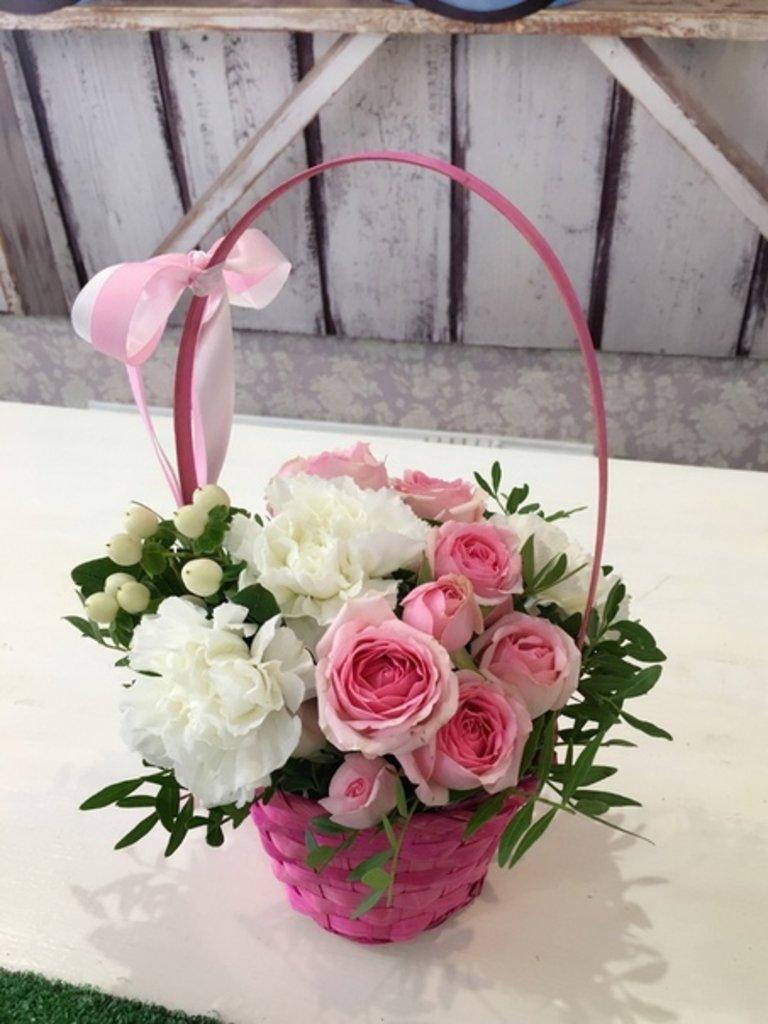 Корзины цветов: Мини-корзинки с цветами в Botanique №1,ЭКСКЛЮЗИВНЫЕ БУКЕТЫ