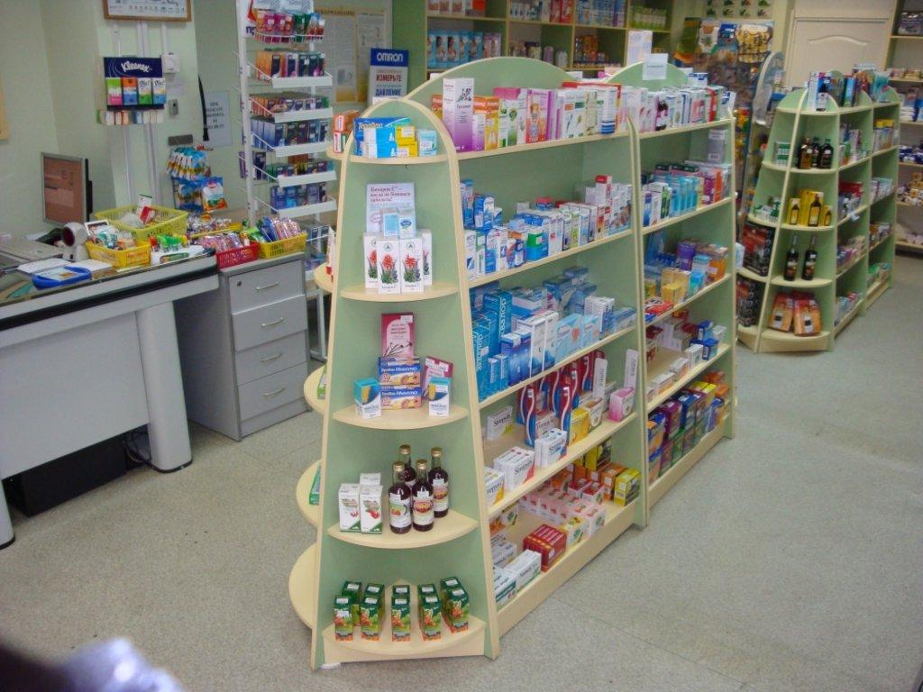 Мебель для аптеки: Аптечное оборудование - стенд в Студия Мебели
