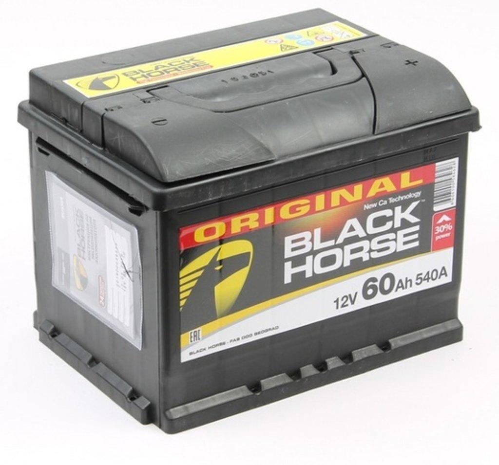 BLACK HORSE: Аккумулятор BLACK HORSE 60 A/h в БазаАКБ