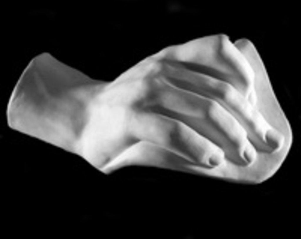 Гипсы: Кисть Давида в Шедевр, художественный салон
