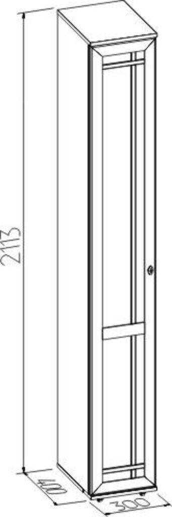 Шкафы для прихожих: Шкаф для обуви левый Sherlock 73 в Стильная мебель