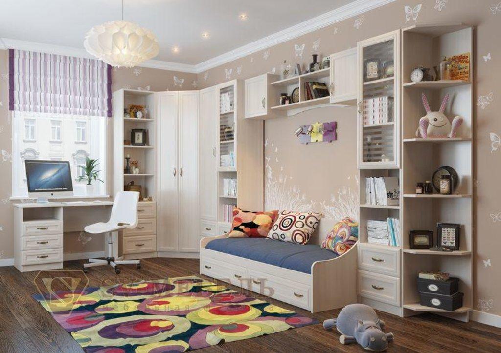 Мебель для детской Вега: Полка навесная (1,9 м) Вега ДМ-10 в Диван Плюс