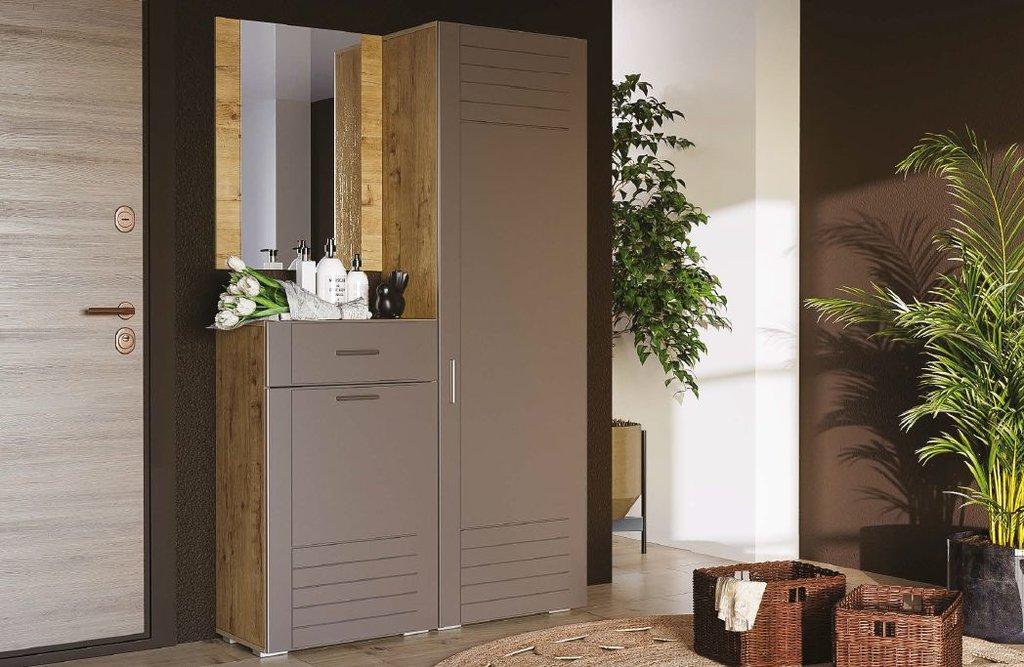 Тумбы и шкафы для обуви: Тумба для обуви LIVORNO НМ 040.65 в Стильная мебель