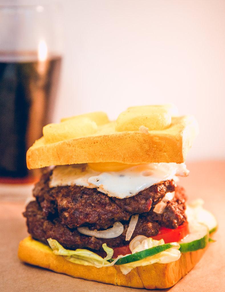 Легго-бургеры: Мастер Ву в Leggo burger