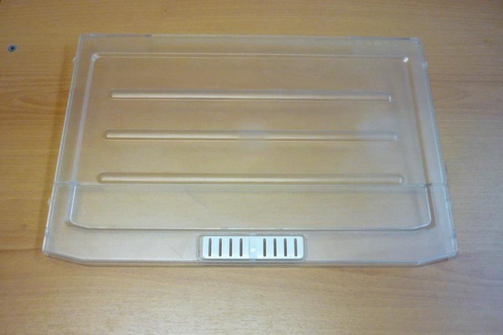 Запчасти для холодильников: Крышка ящика овощей прозрачная для холодильника в АНС ПРОЕКТ, ООО, Сервисный центр