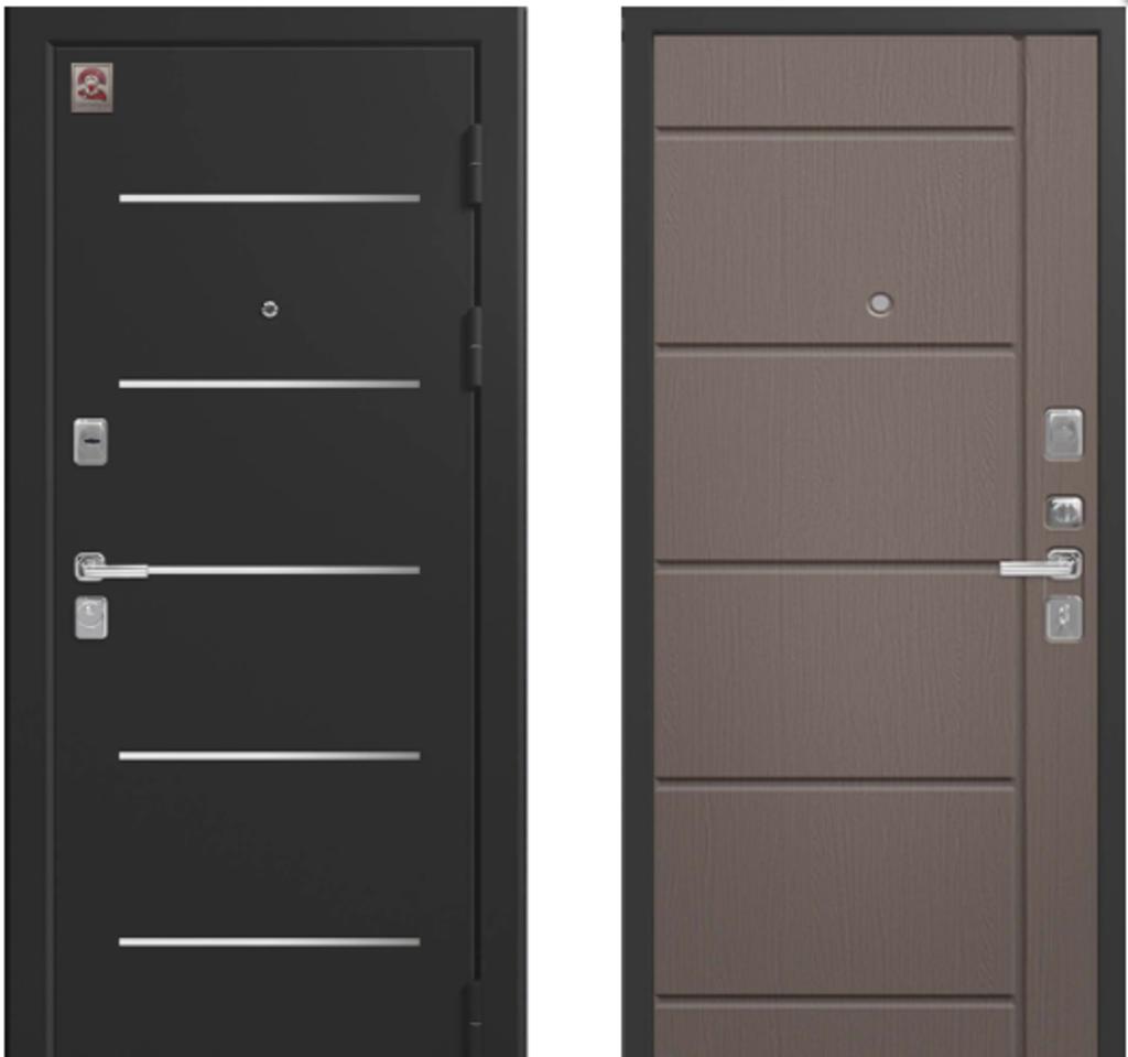 Двери Центурион: Центурион LUX2 ЯСЕНЬ ГРЕЙ СОФТ в Модуль Плюс
