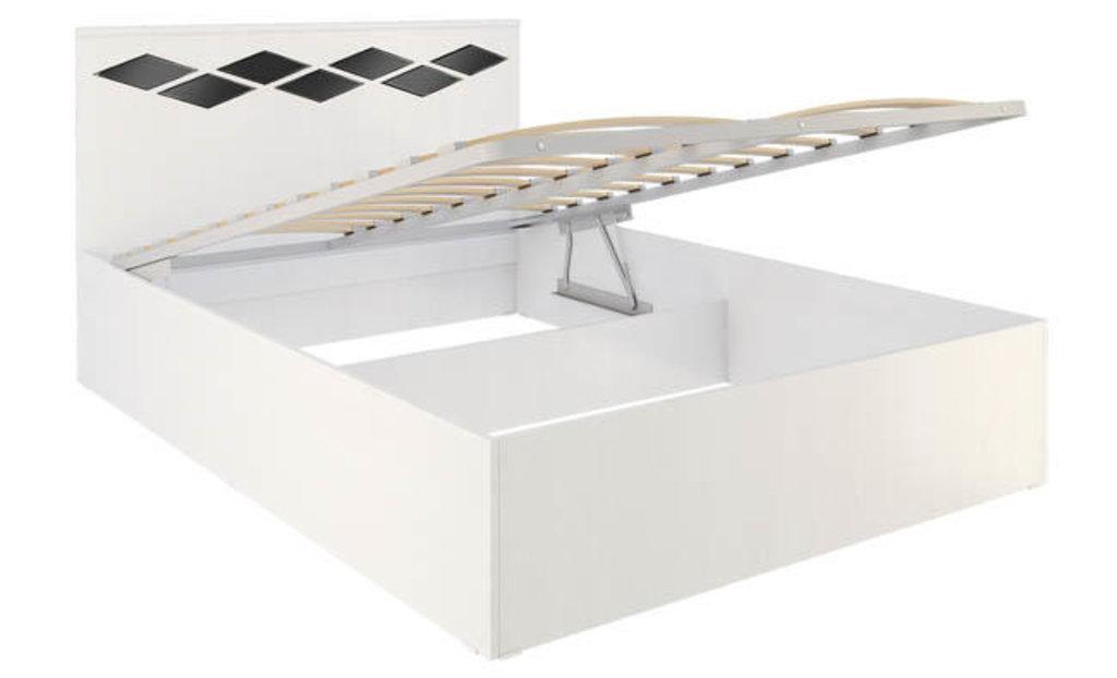 Кровати: Кровать Диана 3.1 (1400, мех. подъема) в Стильная мебель