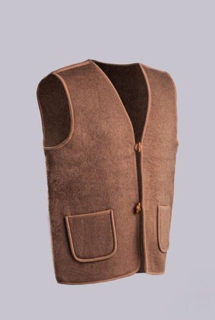 Лечебные пояса, жилеты, наколенники: Жилет из верблюжьей шерсти валяный Эконом в Сельский магазин