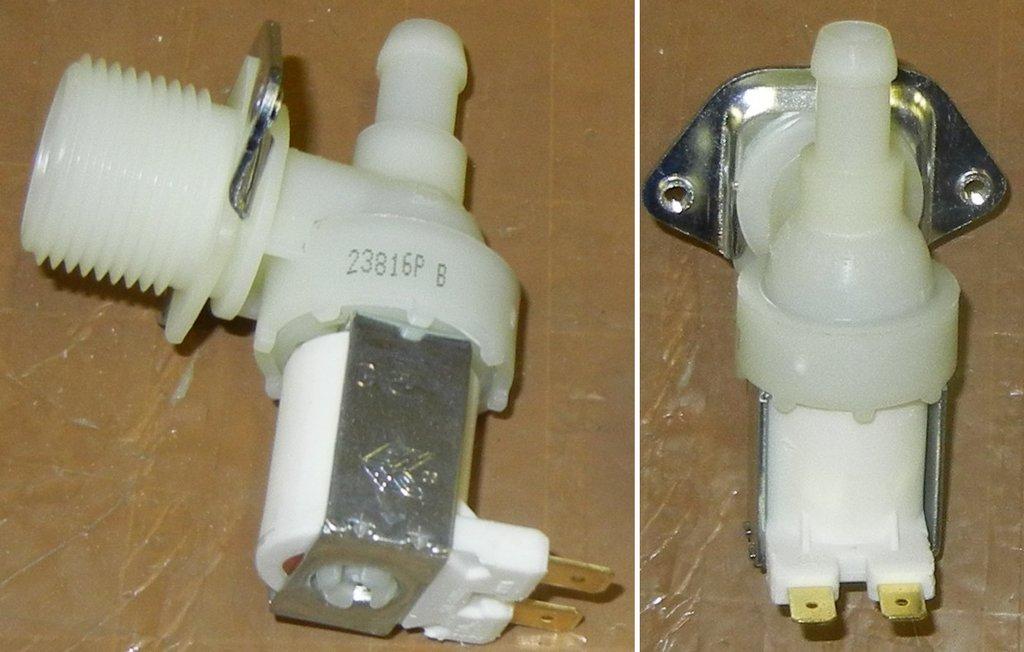 Клапана электрические наливные (КЭН): Электроклапан (клапан наливной электромагнитный - КЭН) 1Wx90° для стиральных машин Ардо (Ardo), Самсунг (Samsung), Индезит (Indesit), Аристон (Ariston), Канди (Candy), Вирпул (Whirlpool), D=10mm, 62AB005, VAL111UN, 481981729021, 481981729326, 16ev16, 25686057u, 194396 в АНС ПРОЕКТ, ООО, Сервисный центр