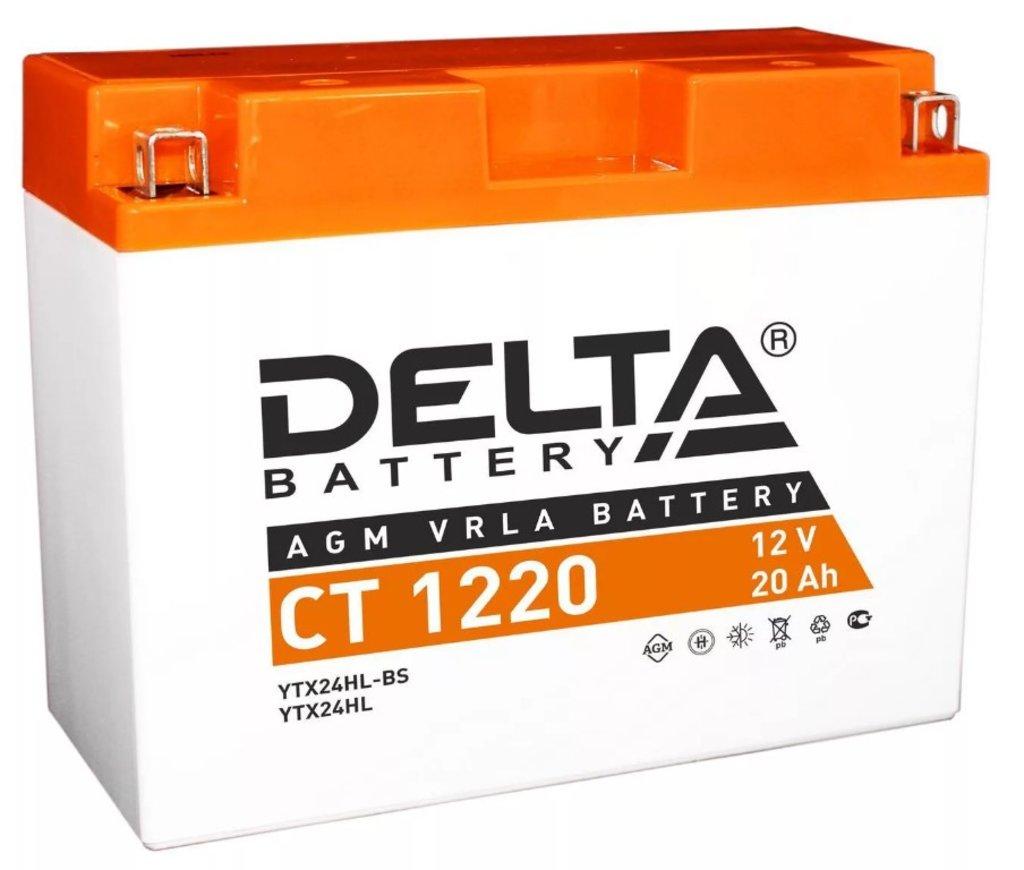 Delta: DELTA CT 1220 в БазаАКБ