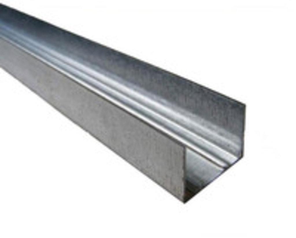 Профиль гипсокартонный: Профиль ПН (28*27) L=3м 0,4мм в 100 пудов