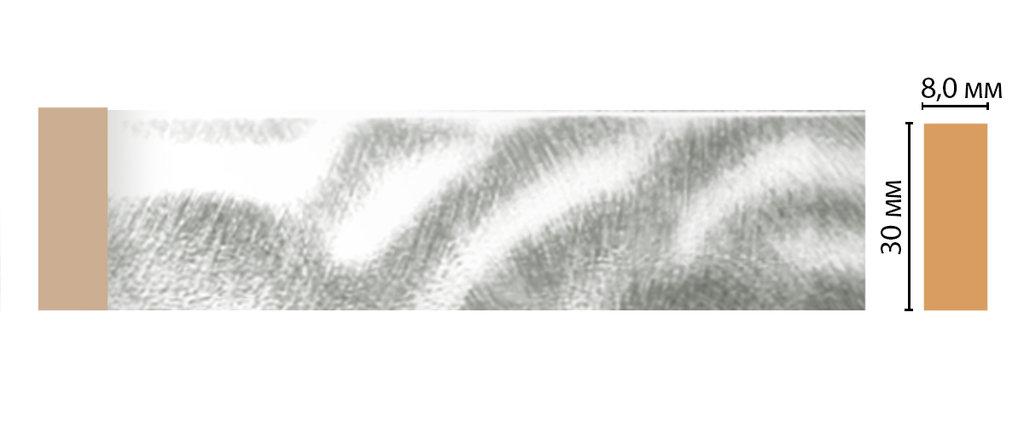 Молдинги: Цветной молдинг DECOMASTER D041-375 (30*8*2400) в Мир Потолков