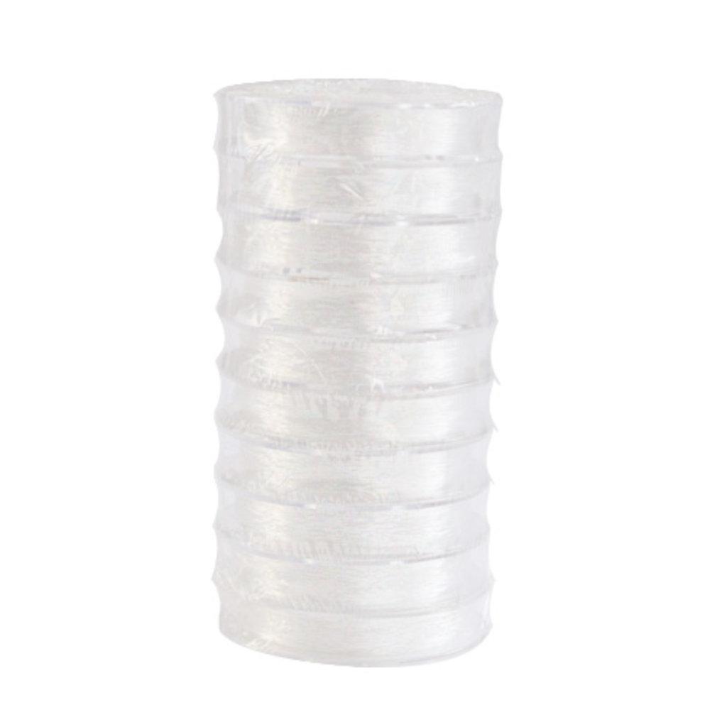 Нить для бисера: Нить силиконовая для бисера 0,8мм*25м(прозрачный) в Редиант-НК