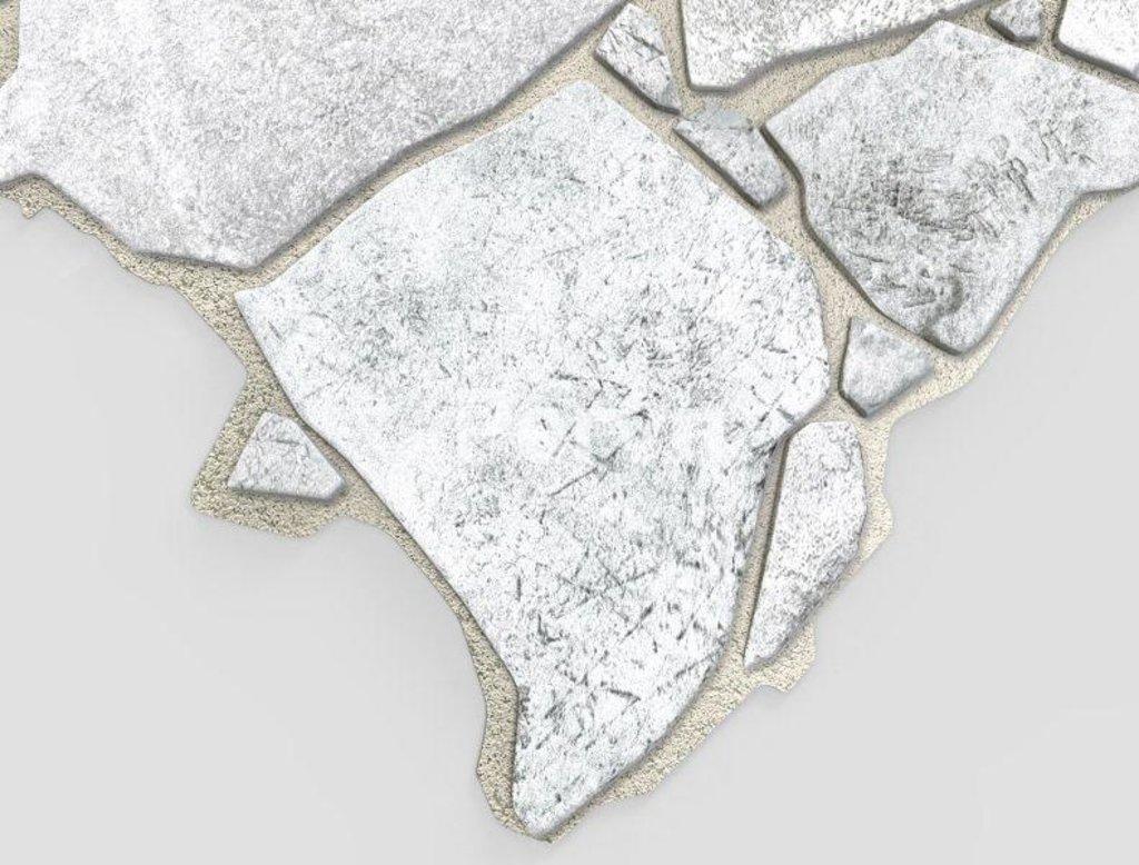 Панели ПВХ: Камень Дикий серый в Мир Потолков