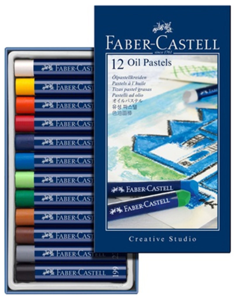 """наборы: Пастель  масляная """"Creative Studio""""12 цв.""""Faber-Castell"""" в Шедевр, художественный салон"""