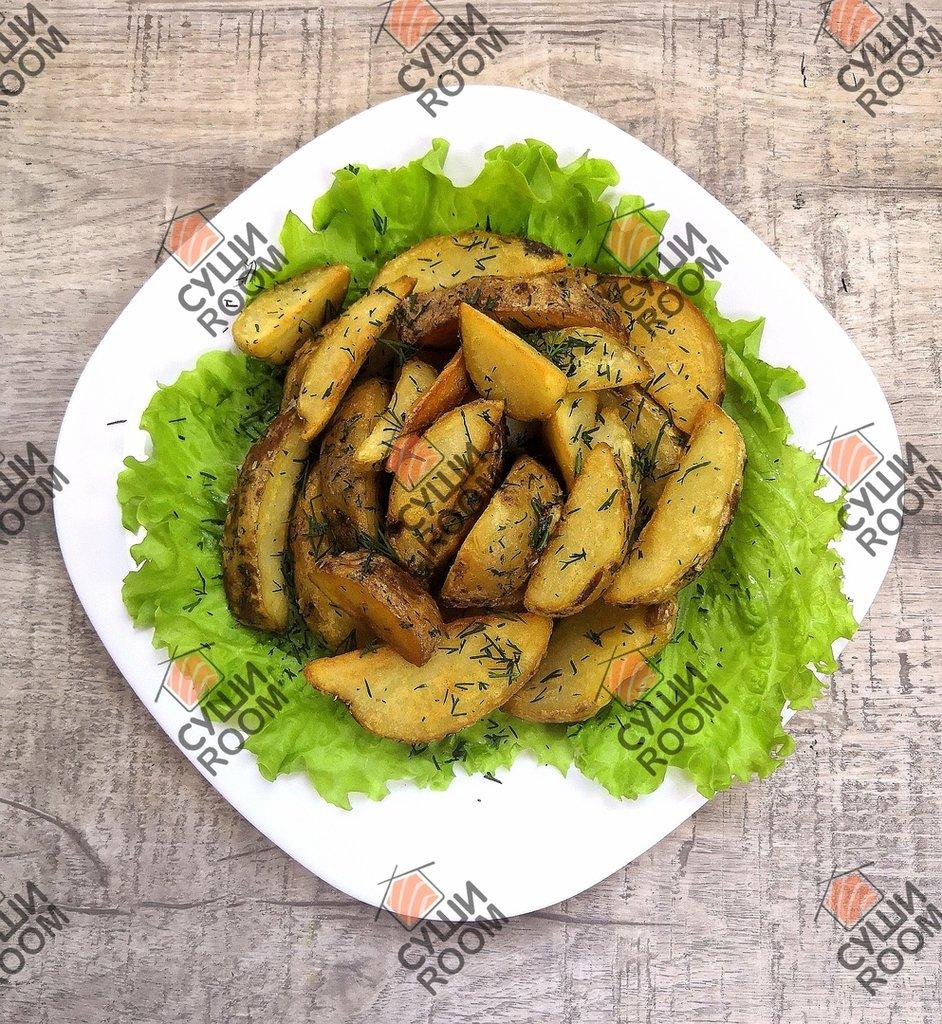 Закуски: Картофельные дольки в Суши Room