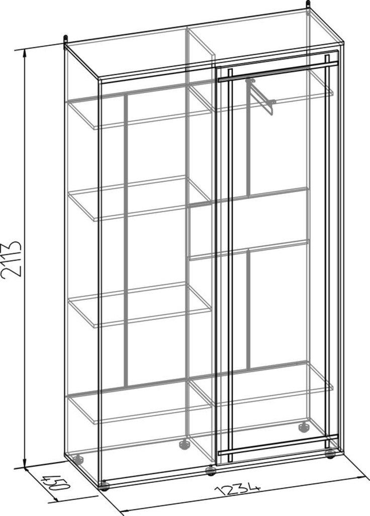 Шкафы купе: Шкаф-купе Sherlock 303 в Стильная мебель
