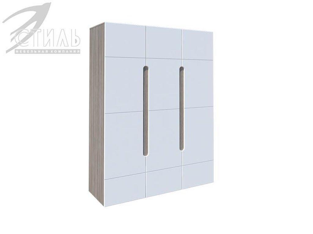 Мебель для спальни Палермо: Шкаф трехстворчатый Палермо в Диван Плюс