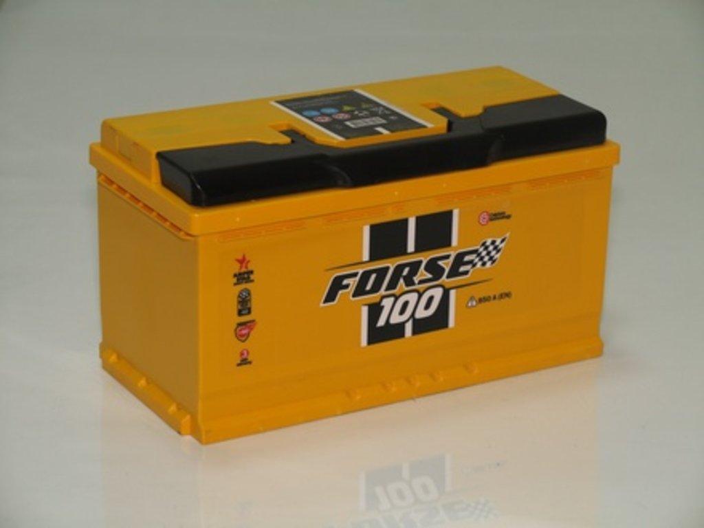 Аккумуляторы автомобильные: FORSE 100 А/Ч L в Мир аккумуляторов