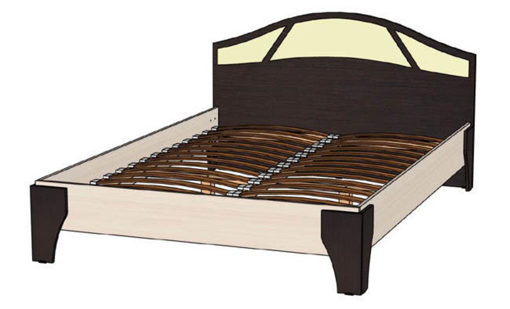 Кровати: Кровать Верона (1400, орт. осн. дерево) в Стильная мебель