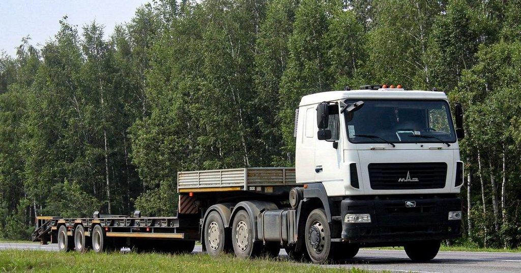 Аренда другой спецтехники: Тралл на базе МАЗ в ПромЭнергоКомплекс