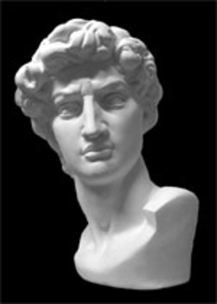 Гипсы: Давид Микеланджело в Шедевр, художественный салон