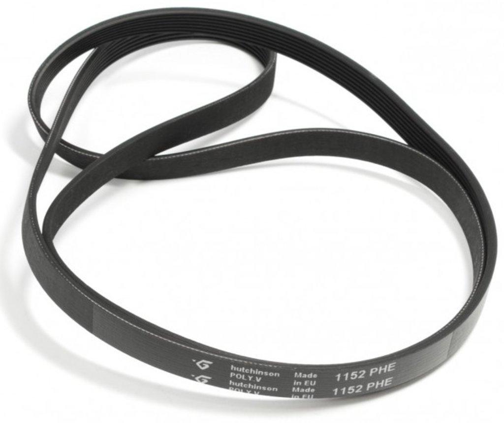 Ремни привода барабана: Ремень для стиральной машины 1152 H7_EL, <1075mm> 'hutchinson', зам.M908092003030, BLH129UN в АНС ПРОЕКТ, ООО, Сервисный центр