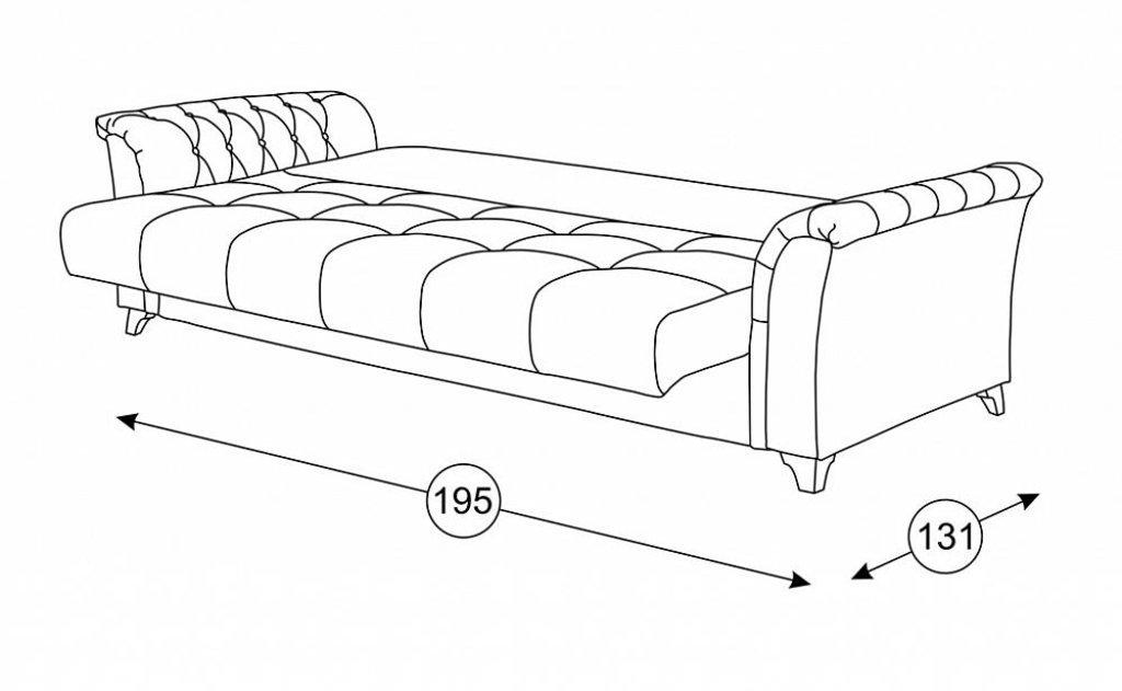Диваны Ирис: Диван-Кровать Ирис ТД 963 в Диван Плюс