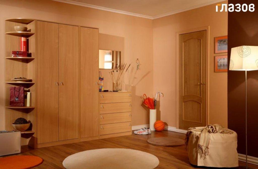 Мебель для прихожей Комфорт (Венге, Бук): Мебель для прихожей Комфорт. Композиция 1 (Бук, Венге) в Стильная мебель