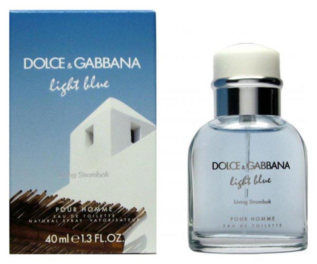 Dolce&Gabbana: D&G Light Blue Living Stromboli Туалетная вода edt муж 40 ml в Элит-парфюм