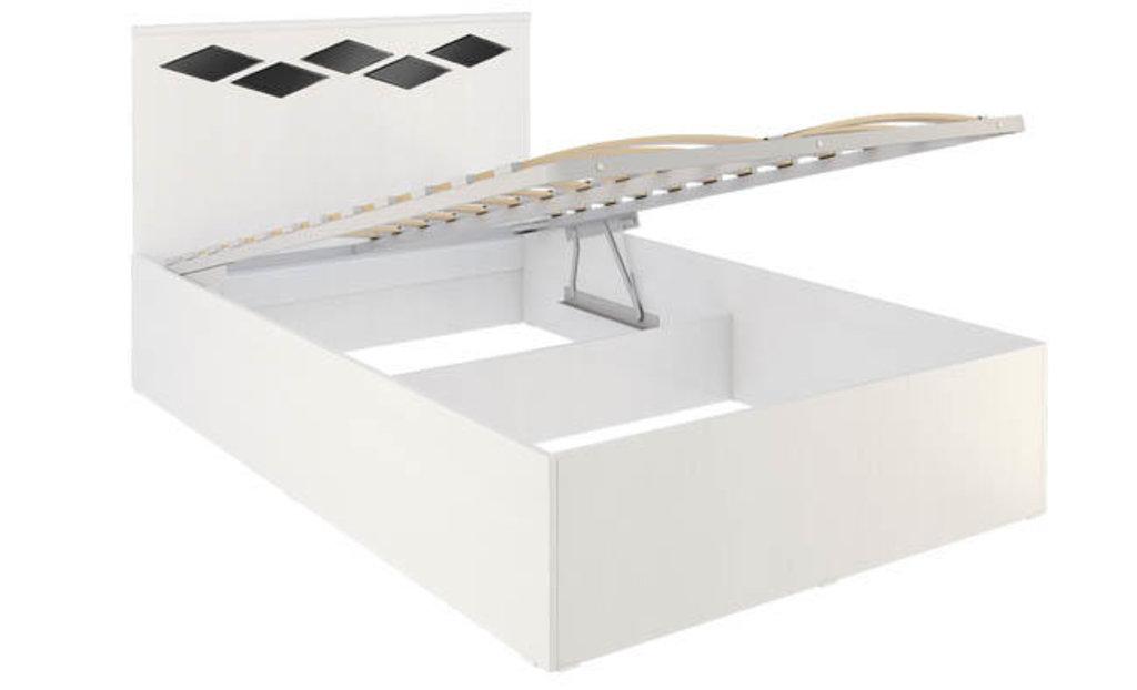 Кровати: Кровать Диана 4.1 (1200, мех. подъема) в Стильная мебель