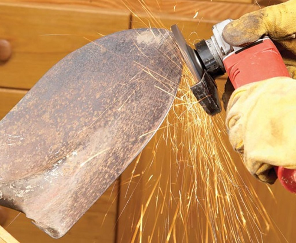 Заточка инструмента: Заточка лопаты в Интерлес, ООО