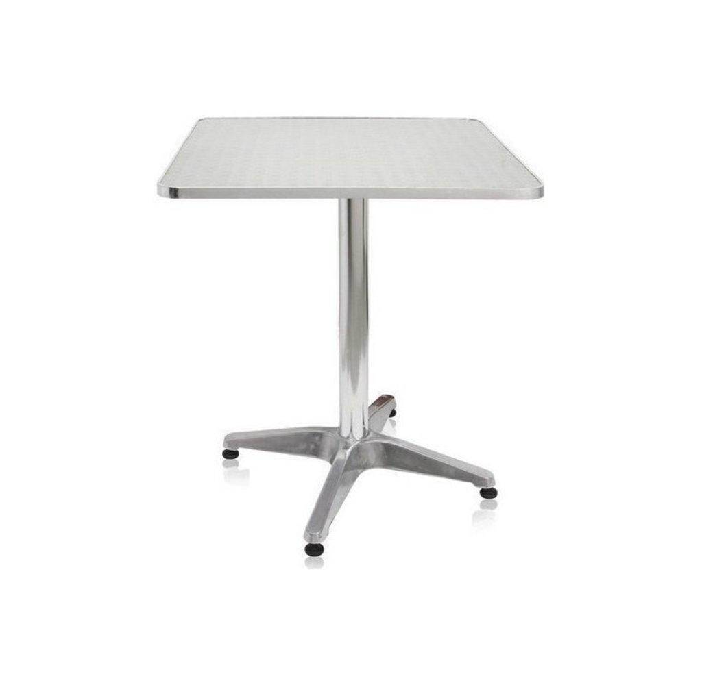 Столы для летних кафе, ресторанов.: Стол алюминиевый 600х600 мм. 1203DP в АРТ-МЕБЕЛЬ НН