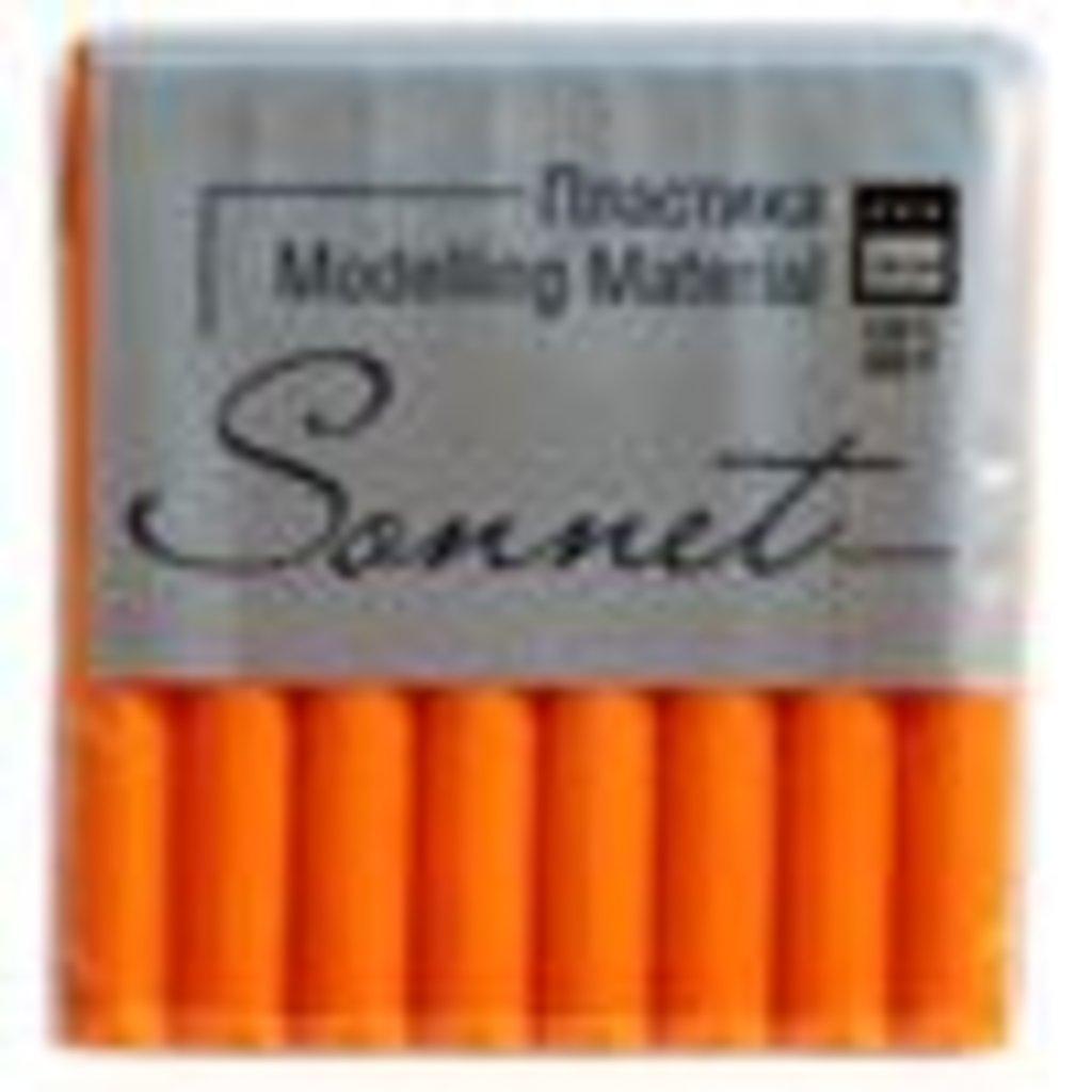 """Sonnet пластика флуоресцентная: Пластика """"Sonnet"""" оранжевый флуоресцентный  56гр в Шедевр, художественный салон"""