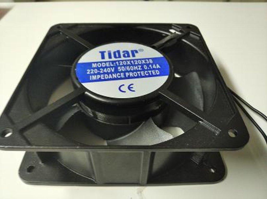 Запчасти для холодильников: Вентилятор Sunflow плоский (120х120х38mm) 220V в АНС ПРОЕКТ, ООО, Сервисный центр