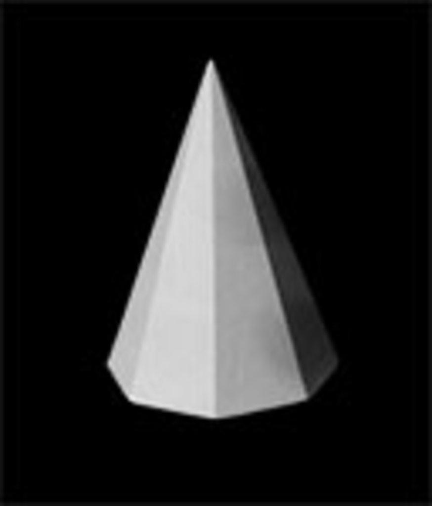 Гипсы: Пирамида 8-гранная, гипс в Шедевр, художественный салон