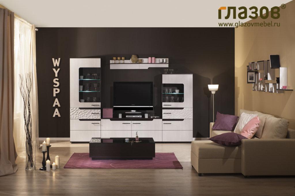 Книжные шкафы и полки: Полка навесная WYSPAA 4 в Стильная мебель