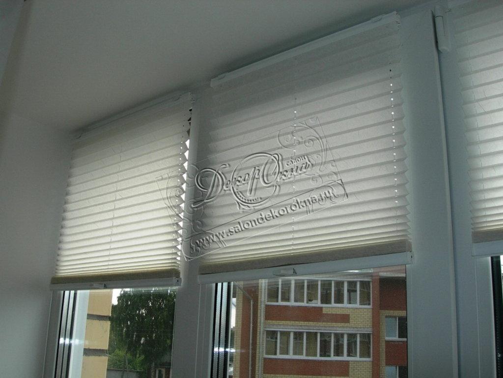 Плиссе: Шторы плиссе в Декор окна, салон