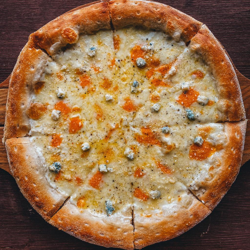 Пицца: Четыре сыра в Пиццуля Кемерово